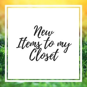 Check out my new items!!!